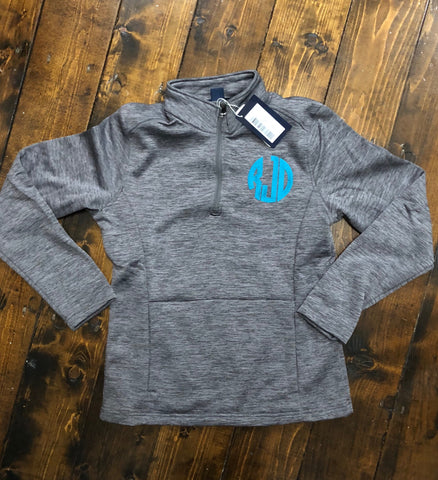 Trendy Pocketed Fleece Dri-Fit Style Pullover