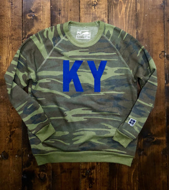 Battle Tested KY Crewneck Sweatshirt
