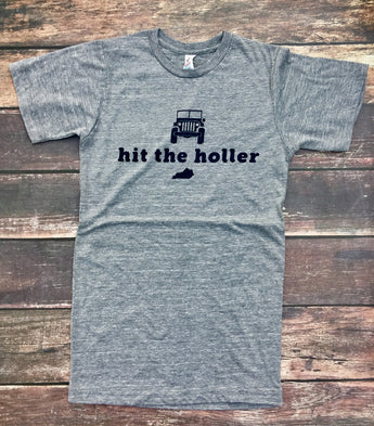 Hit the Holler Triblend tee