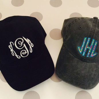 Personalized Monogram Ladies Cap