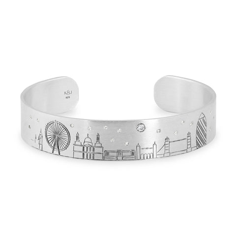 London Skyline Cuff,  - Katherine & Josephine