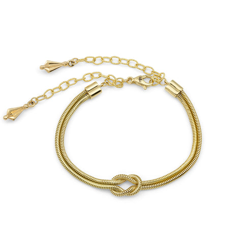 Yellow Gold Knot Bracelet