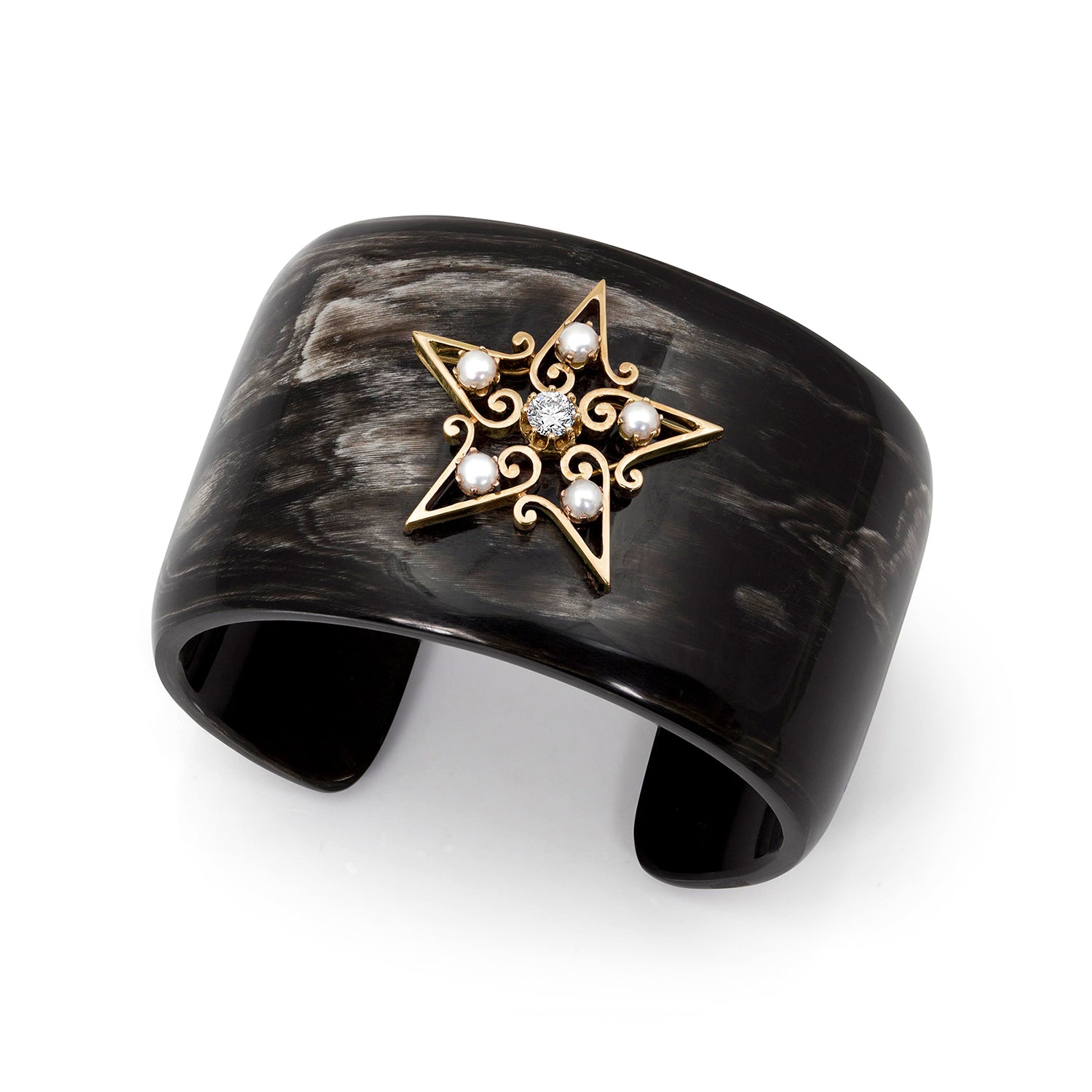 One-of-a-Kind Horn Cuff Bracelet,  - Katherine & Josephine