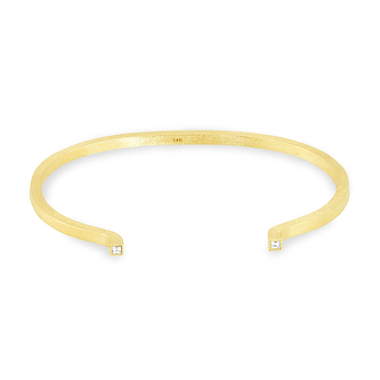 Small Square Solid Tube Cuff, Jewelry - Katherine & Josephine
