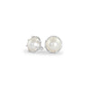 Gold Pearl Stud Earrings, Jewelry - Katherine & Josephine