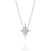 Gold Elongated Star Necklace, Jewelry - Katherine & Josephine