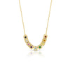 Gold Floating Rainbow Necklace,  - Katherine & Josephine