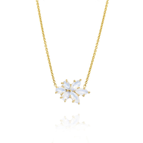 Yellow Gold Medium Bouquet Necklace