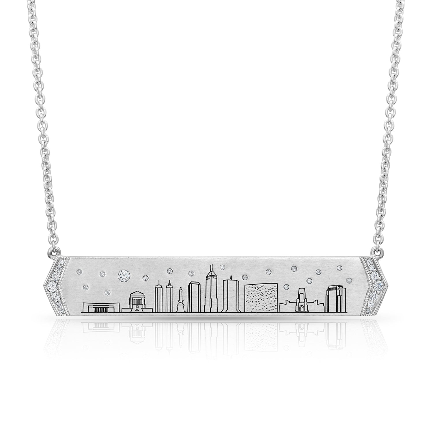 Indianapolis Skyline Necklace,  - Katherine & Josephine