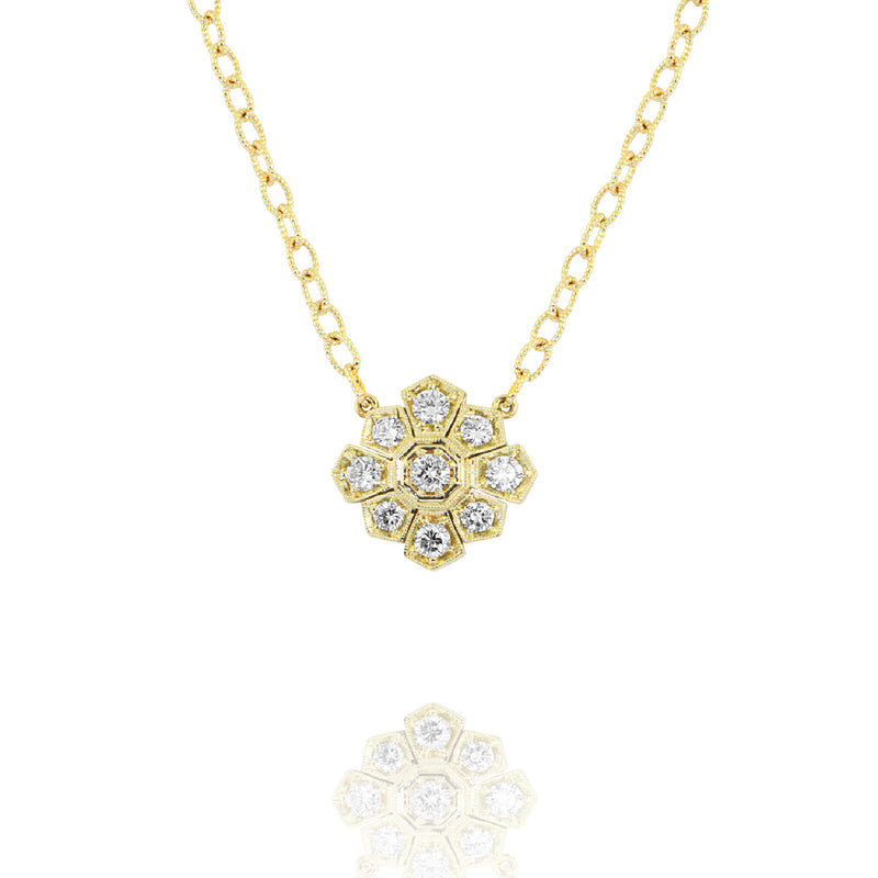 Gold Starburst Necklace,  - Katherine & Josephine
