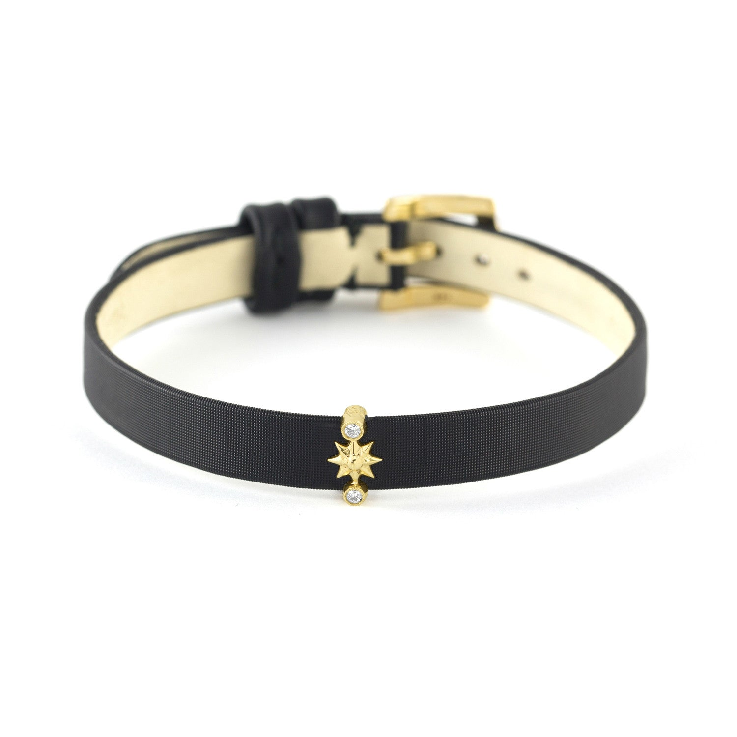 Yellow Gold Mini Star Slide, Jewelry - Katherine & Josephine