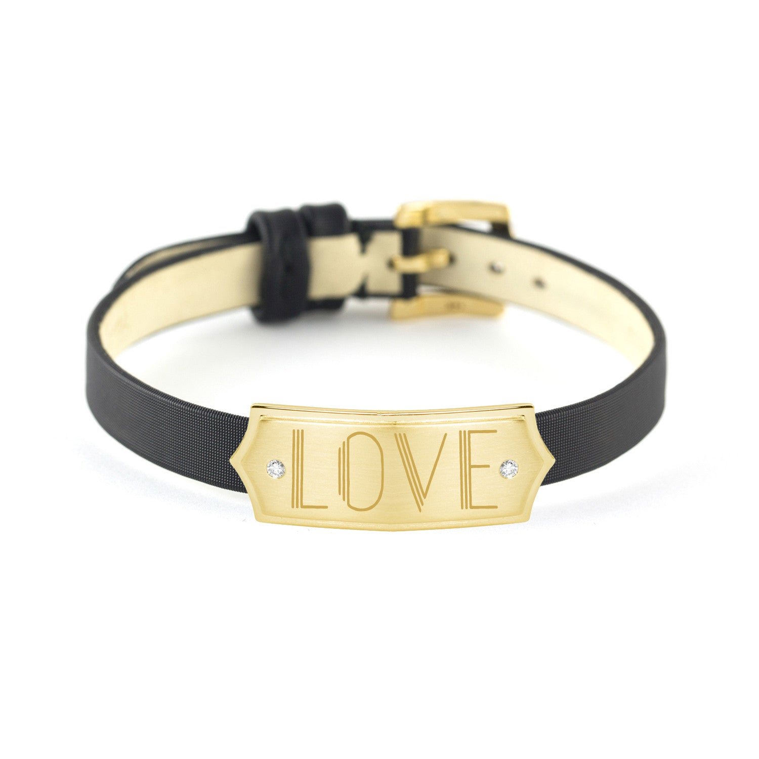 Yellow Gold LOVE Slide, Jewelry - Katherine & Josephine