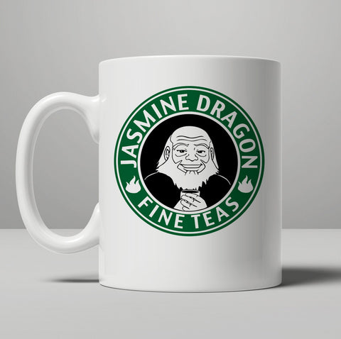 Avatar Jasmine Dragon Tea Mug, Tea Mug, Coffee Mug