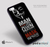 Anonymous Oscar Wilde Black for iPhone 4/4S, iPhone 5/5S, iPhone 5c, iPhone 6, iPhone 6 Plus, iPod 4, iPod 5, Samsung Galaxy S3, Galaxy S4, Galaxy S5, Galaxy S6, Samsung Galaxy Note 3, Galaxy Note 4, Phone Case