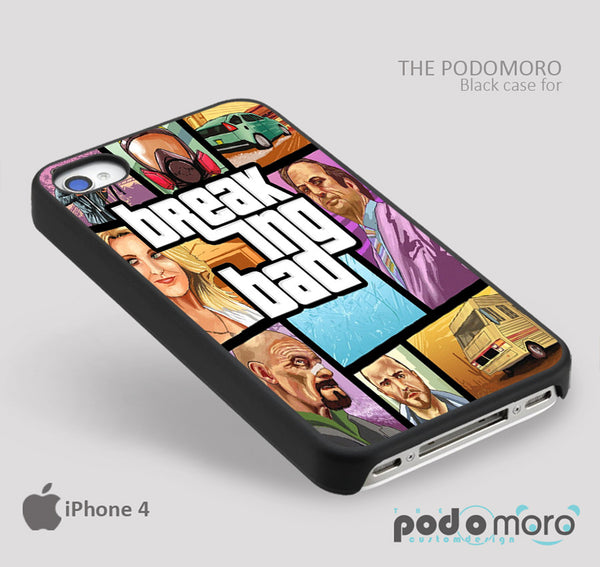 Breaking Bad for iPhone 4/4S, iPhone 5/5S, iPhone 5c, iPhone 6, iPhone 6 Plus, iPod 4, iPod 5, Samsung Galaxy S3, Galaxy S4, Galaxy S5, Galaxy S6, Samsung Galaxy Note 3, Galaxy Note 4, Phone Case