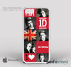 One Direction Collage 1D for iPhone 4/4S, iPhone 5/5S, iPhone 5c, iPhone 6, iPhone 6 Plus, iPod 4, iPod 5, Samsung Galaxy S3, Galaxy S4, Galaxy S5, Galaxy S6, Samsung Galaxy Note 3, Galaxy Note 4, Phone Case