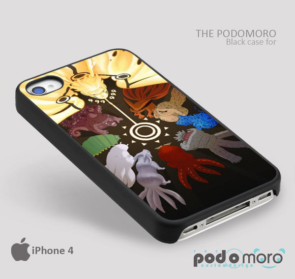 Naruto Bijuu for iPhone 4/4S, iPhone 5/5S, iPhone 5c, iPhone 6, iPhone 6 Plus, iPod 4, iPod 5, Samsung Galaxy S3, Galaxy S4, Galaxy S5, Galaxy S6, Samsung Galaxy Note 3, Galaxy Note 4, Phone Case
