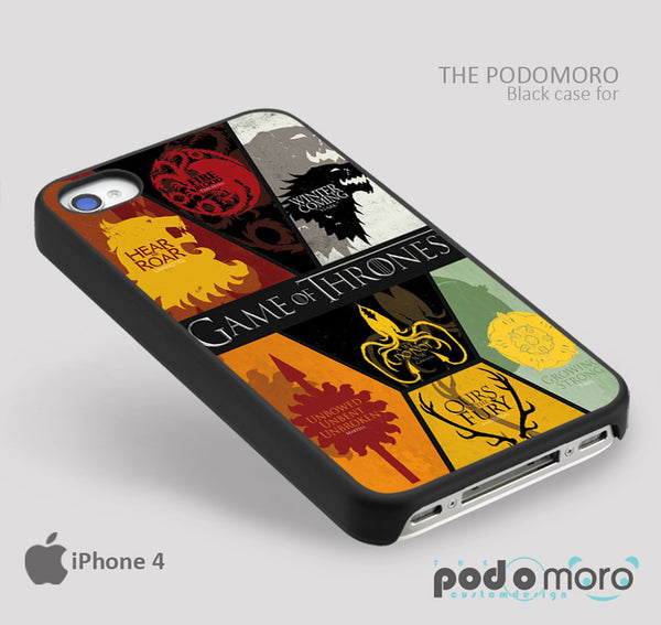 Flag Game Of Thrones for iPhone 4/4S, iPhone 5/5S, iPhone 5c, iPhone 6, iPhone 6 Plus, iPod 4, iPod 5, Samsung Galaxy S3, Galaxy S4, Galaxy S5, Galaxy S6, Samsung Galaxy Note 3, Galaxy Note 4, Phone Case