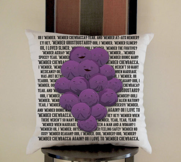 MEMBER BERRIES SOUTH PARK Pillow, Pillow Case, Pillow Cover, 16 x 16 Inch One Side, 16 x 16 Inch Two Side, 18 x 18 Inch One Side, 18 x 18 Inch Two Side, 20 x 20 Inch One Side, 20 x 20 Inch Two Side