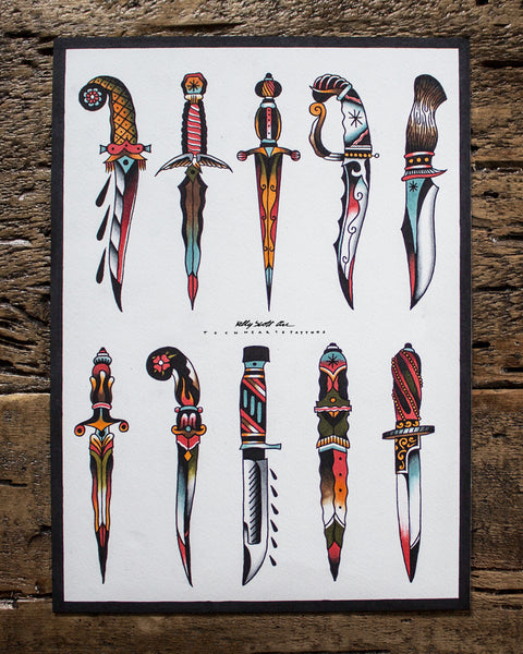 DAGGER PRINT (Only 10 Available)