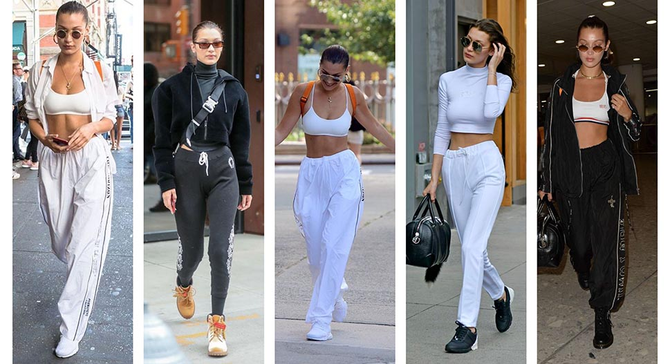 Bella Hadid Athleisure sports style