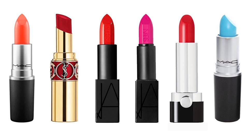 top five bright lipsticks