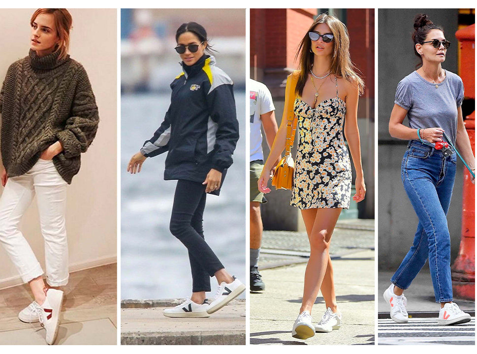 10 celebrities that have worn trainers