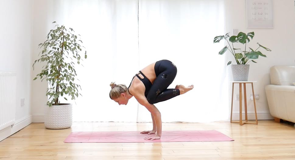 Crow pose - step by step guide