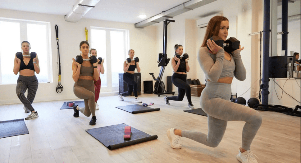 how to book online fitness classes