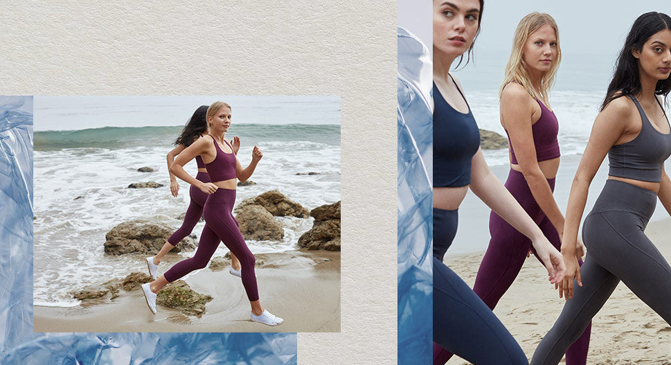 Girlfriend Collective Eco-Friendly Sports Bra and Legging sets