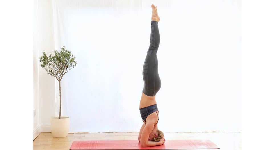 Perfect headstand