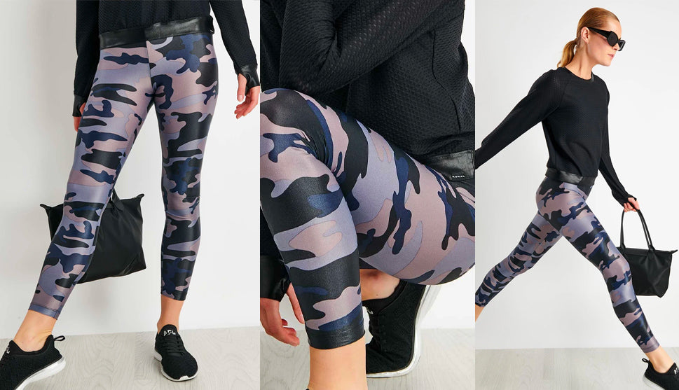 Koral Lustroucs Leggings Midnight Camo