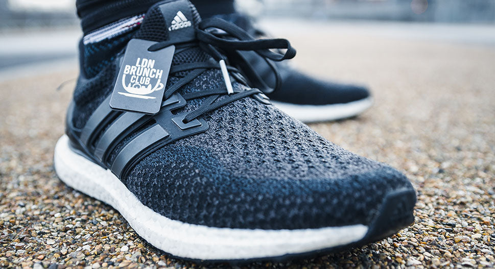 adidas men's boost black