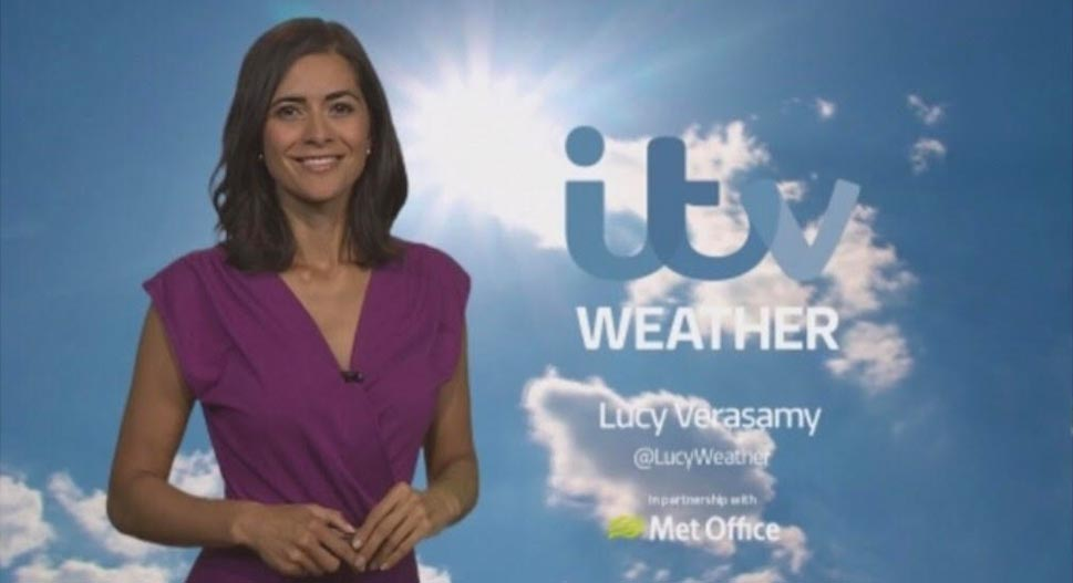 Lucy Verasamy - ITV weather