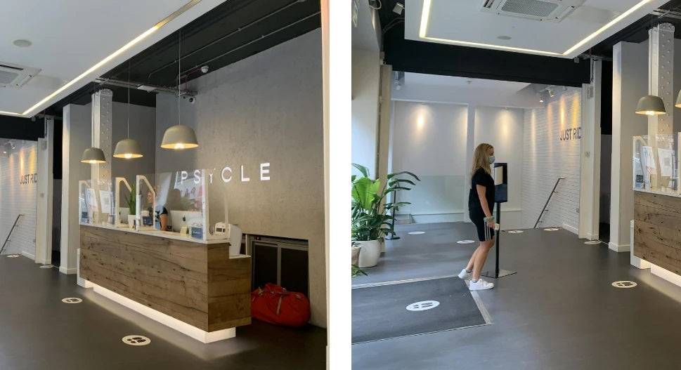 PSYCLE reopening measures after lockdown