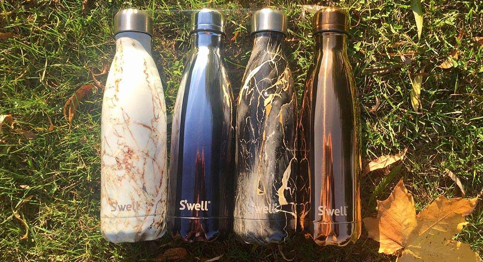 Reusable S'well bottles for Christmas gifts