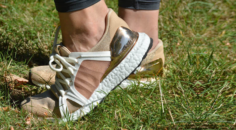 adidas by stella mccartney ultra boost gold
