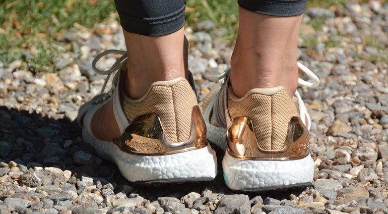 adidas boost rose gold