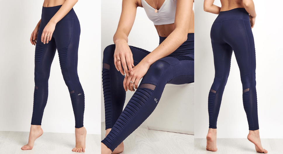 alo yoga navy