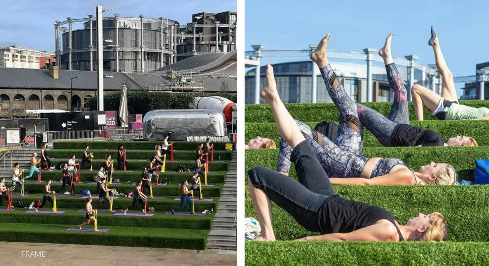 outdoor fitness classes in london
