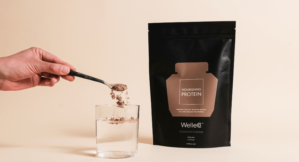 welleco chocolate protein smoothie