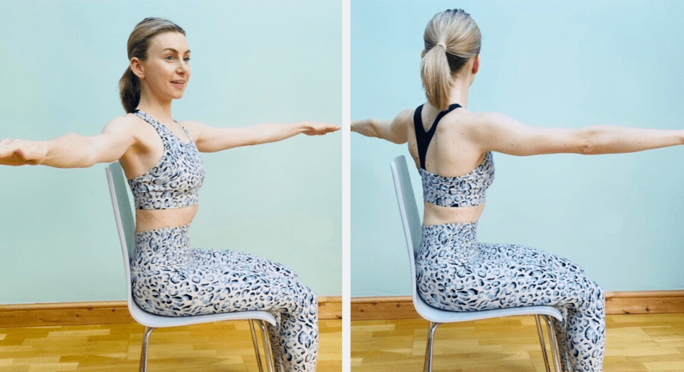 spinal twist pilates move to relieve tension