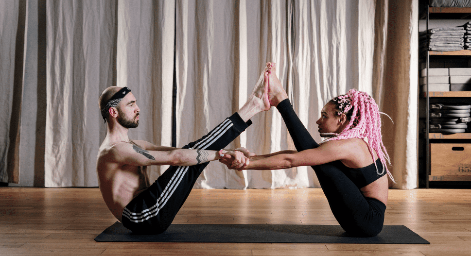 try yoga with your partner