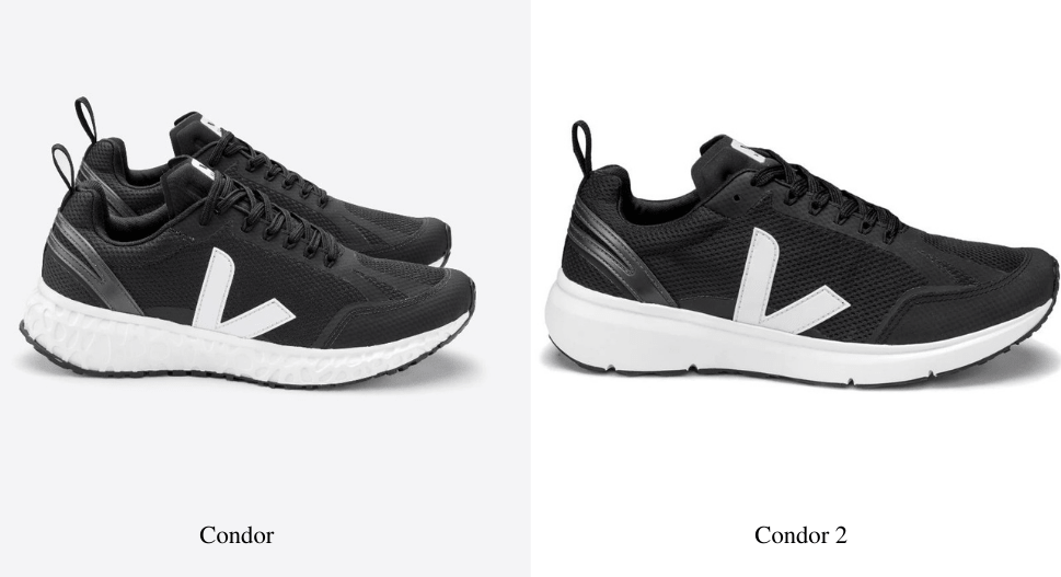 what is the difference between the veja condor and condor 2