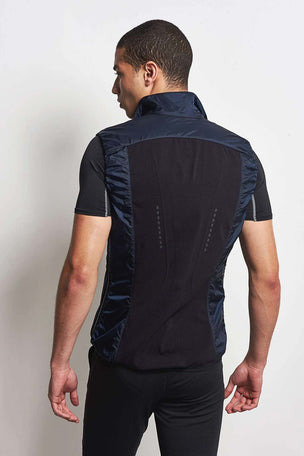 Falke Vest Space Blue image 2 - The Sports Edit