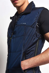 Falke Vest Space Blue image 3 - The Sports Edit