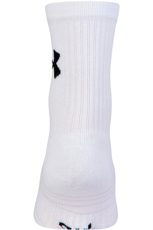 Under Armour UA Elevated Perform Midcrew White/Blk image 4 - The Sports Edit