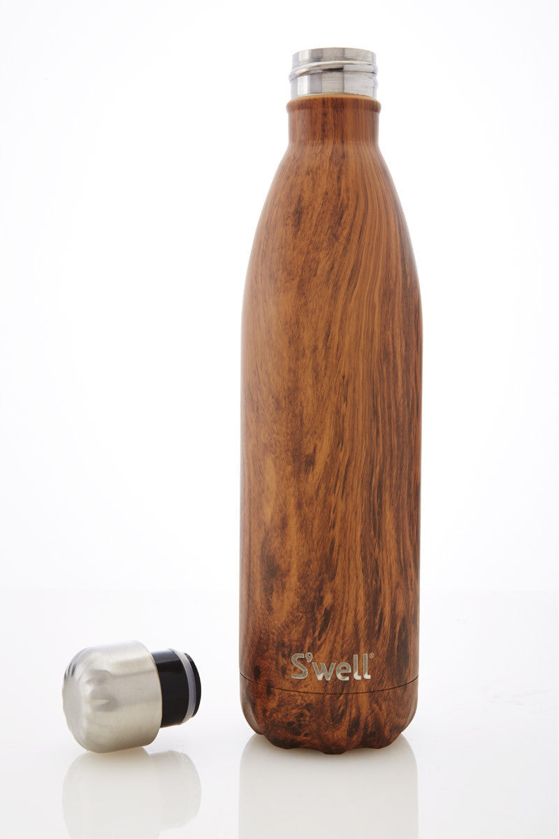 S'Well S'Well Bottle Teakwood 750ml image 2 - The Sports Edit