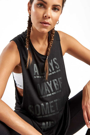 Reebok Training Supply Muscle Tank Black image 4 - The Sports Edit