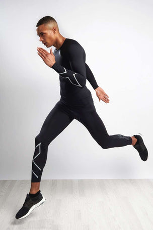 2XU Men's Long Sleeve Compression Top image 4 - The Sports Edit